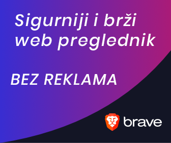 Sigurniji web - Brave